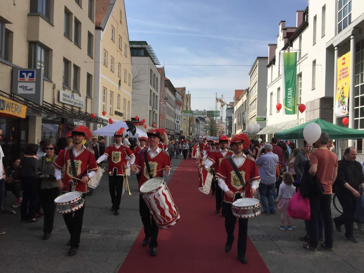 Ostermarkt in Ingolstadt 2017 – Fanfarenzug Eichstätt